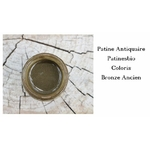 patine antiquaire bronze ancien