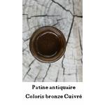patine antiquaire bronze cuivré