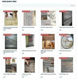livres patines sur bois et céruse