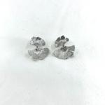 boucles doreilles eleonore en argent 925 en forme de feuille de ginkgo