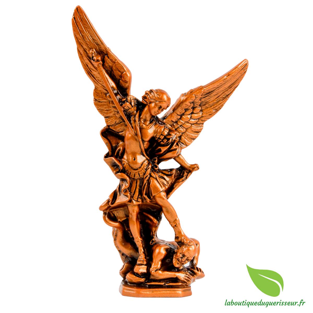 Statue Saint Michel Couleur Bronze