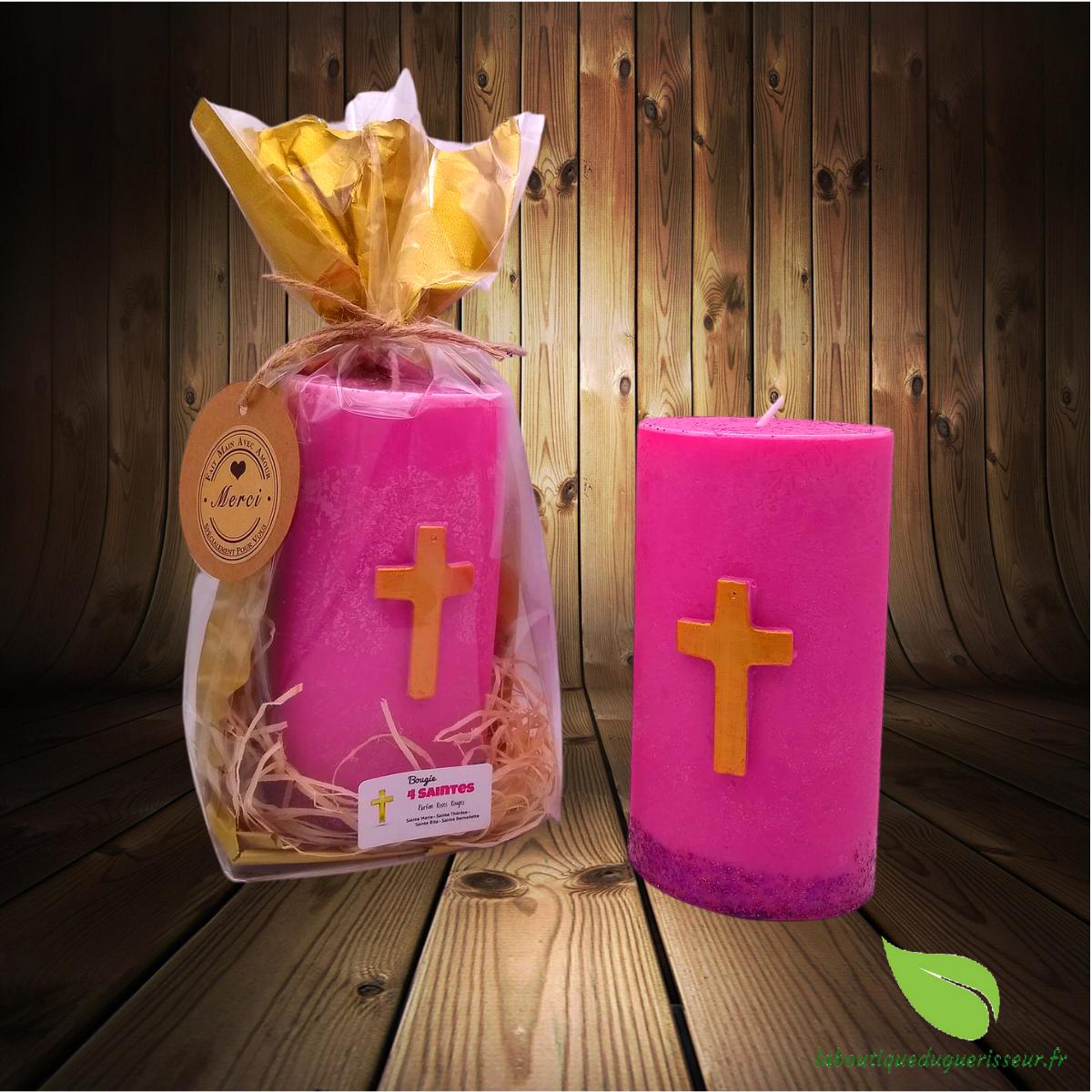 Bougie Pilier Parfumée Les 4 Saintes