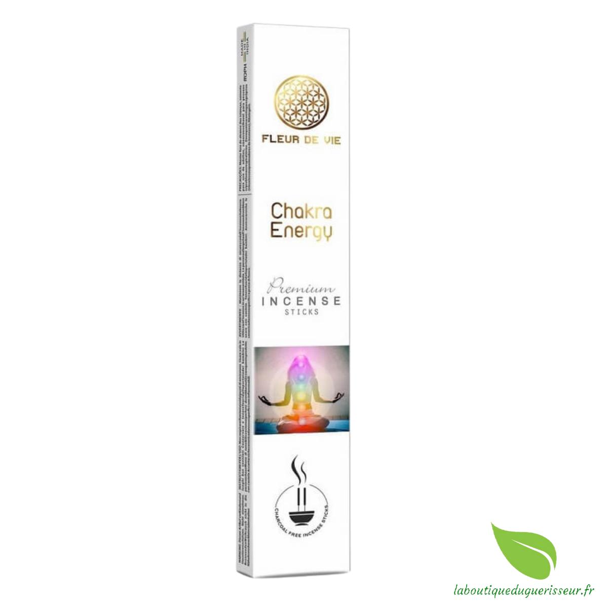 Encens Fleur de Vie Énergie des Chakras