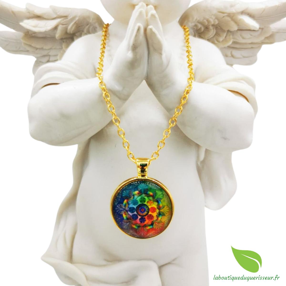 Collier Mandala Fleur de Vie