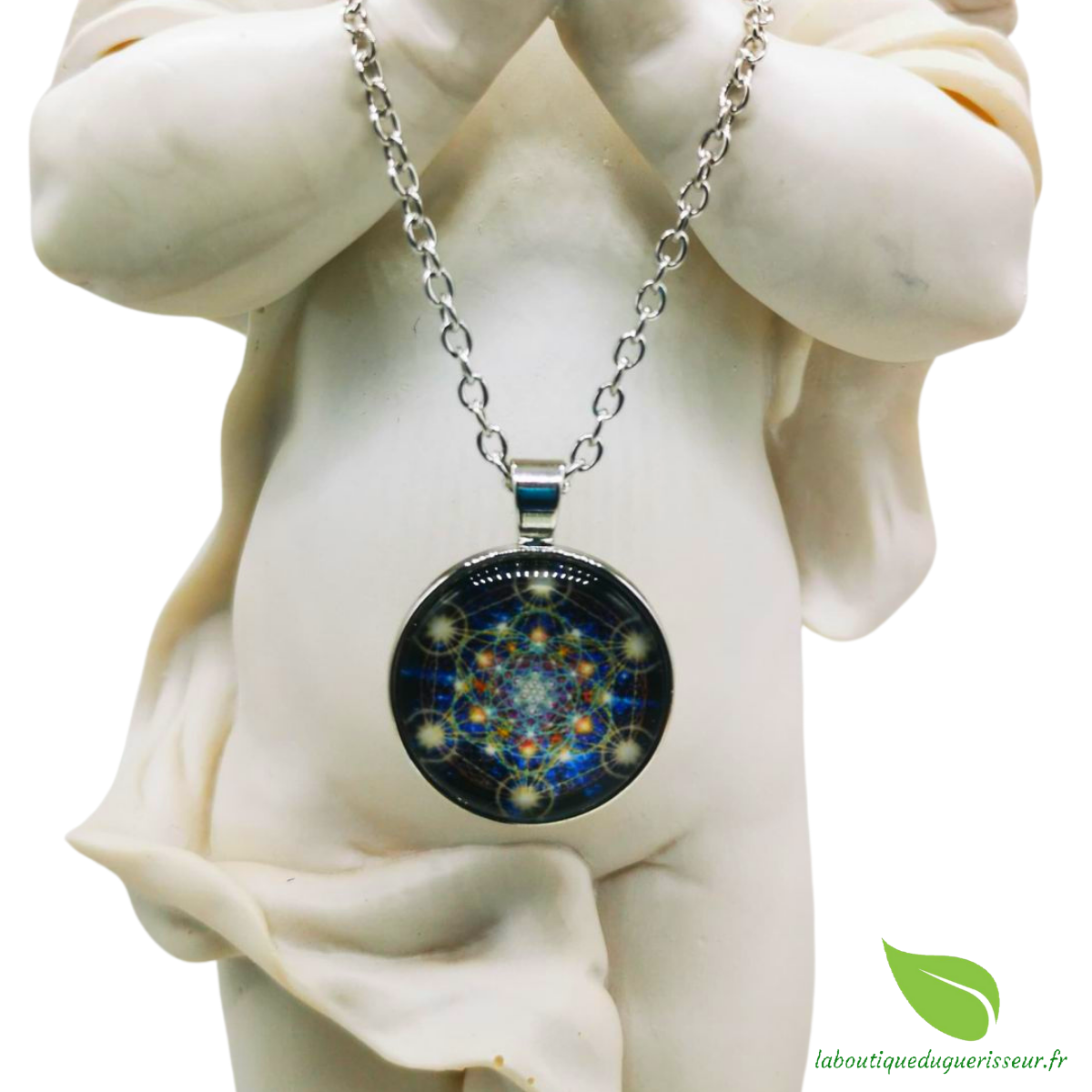 Collier Cube de Metatron