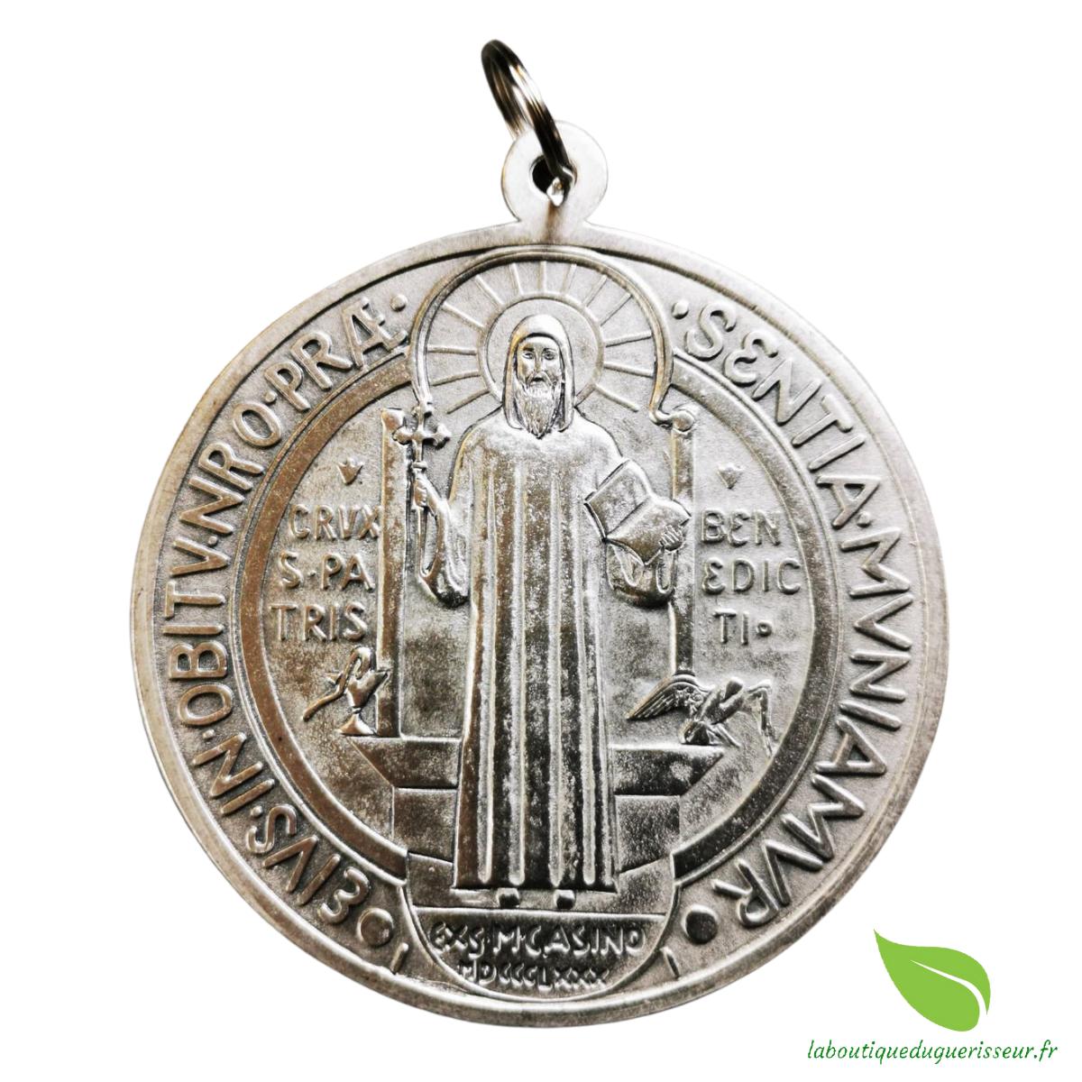 Médaille de Collection Saint Benoît Argentée