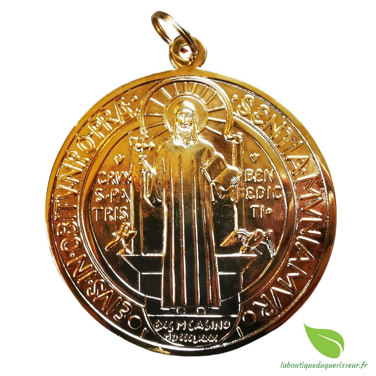 Médaille de Collection Saint Benoît Dorée