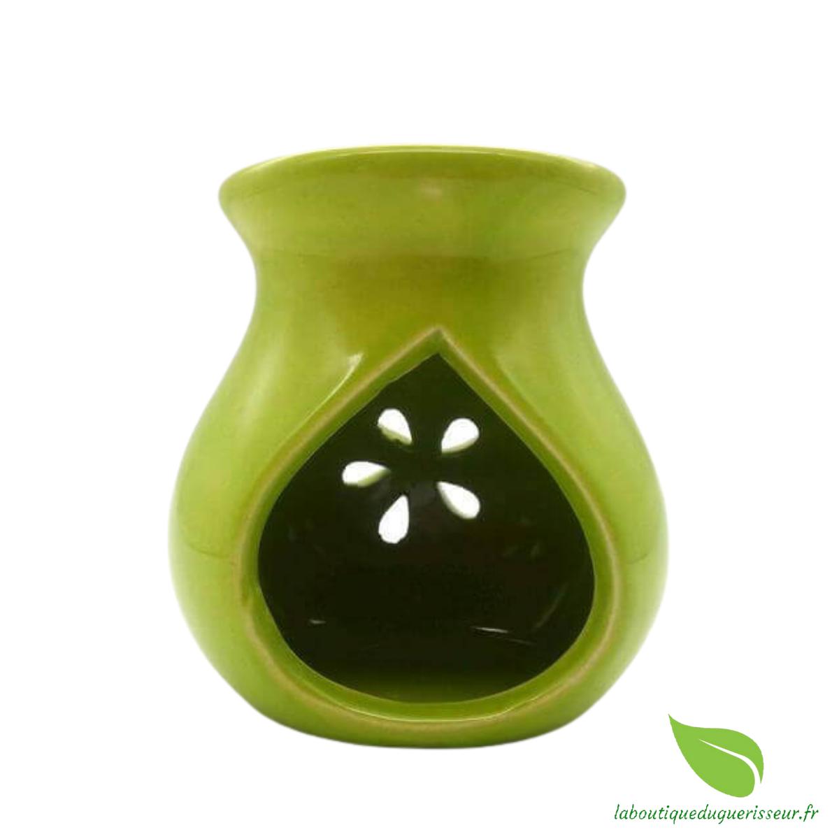 Brûleur Huile Céramique - Vert