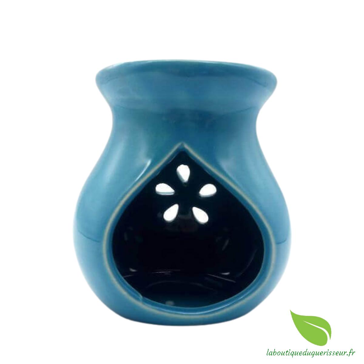 Brûleur Huile Céramique - Bleu
