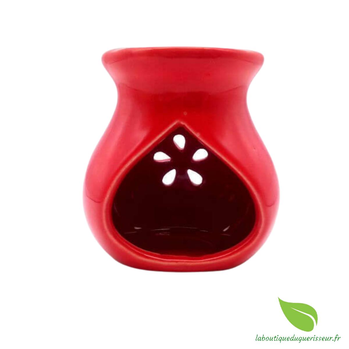 Brûleur Huile Céramique - Rouge