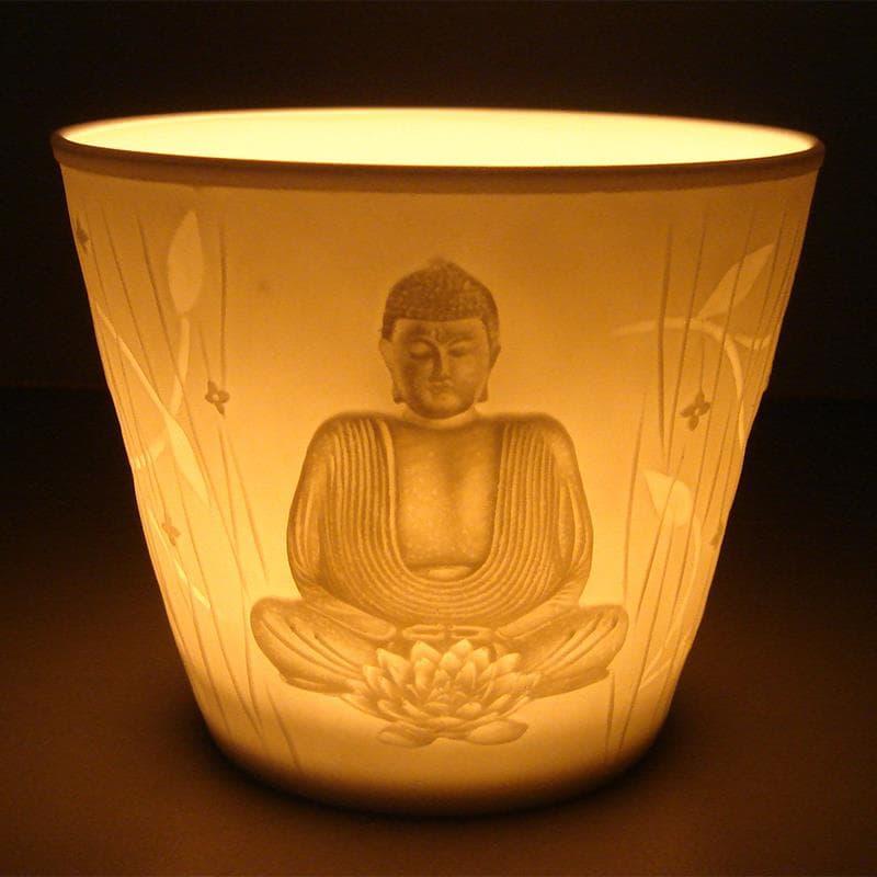Photophore d\'ambiance votif Bouddha