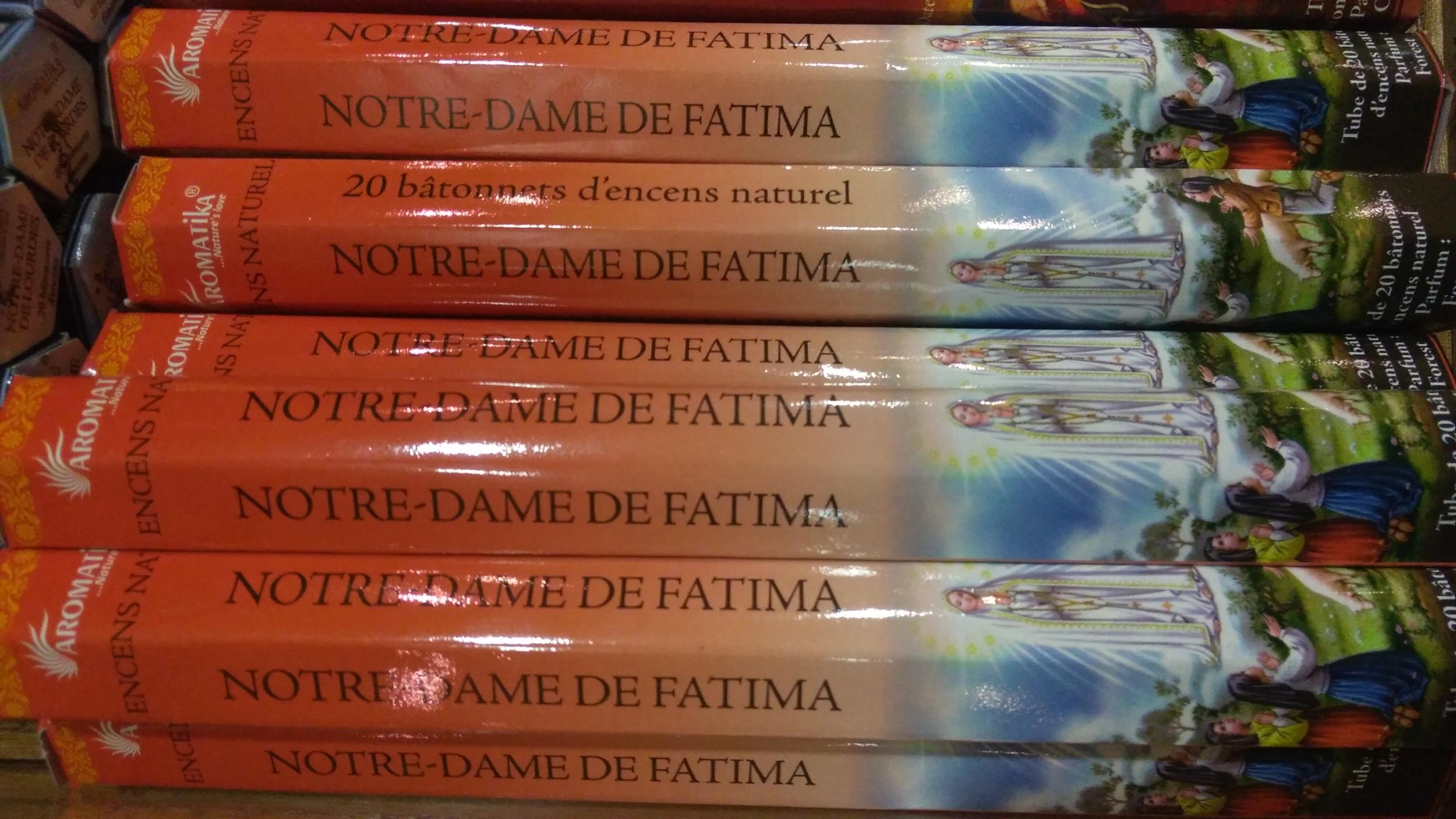 Encens Notre-Dame de Fatima