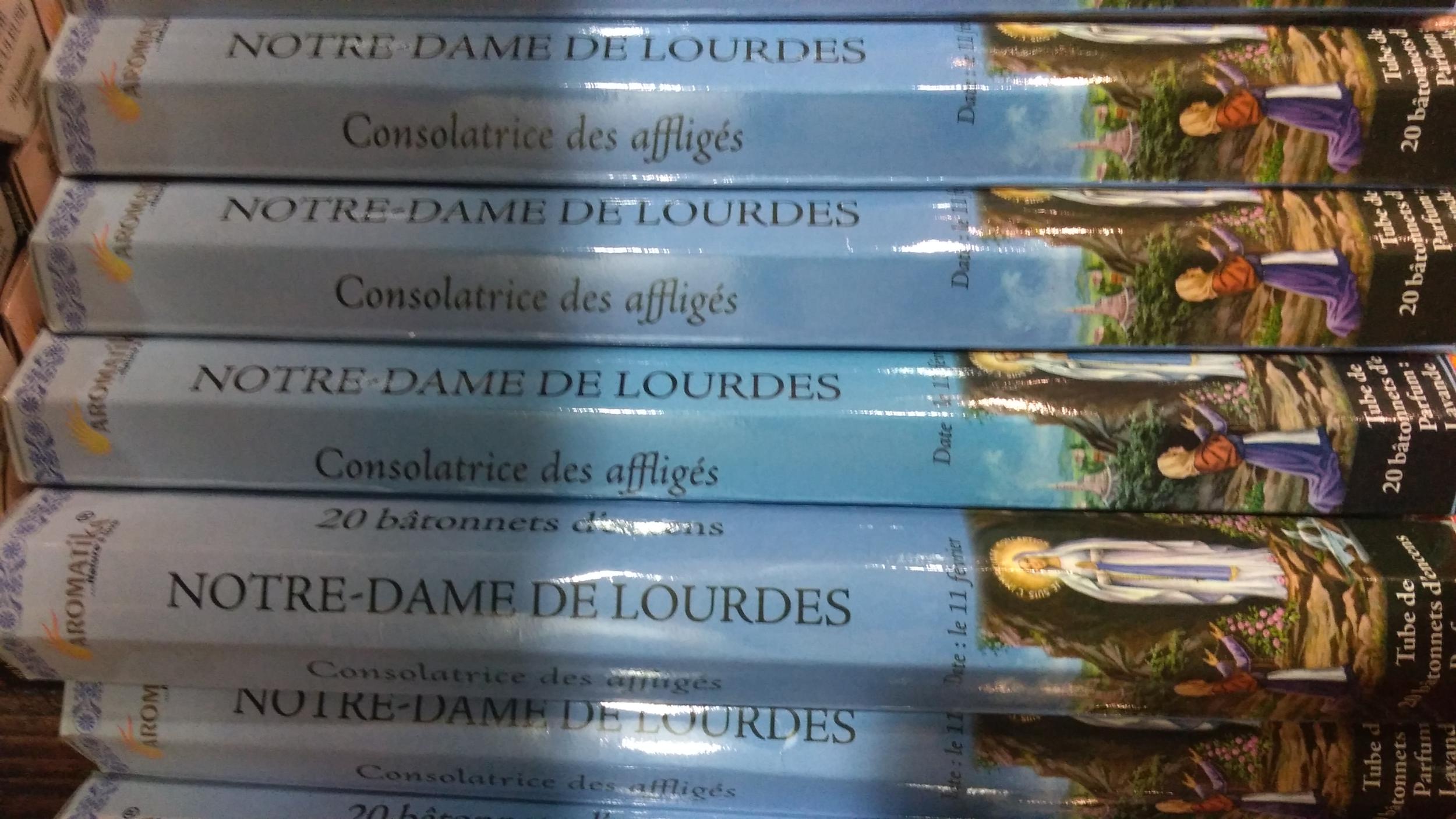 Encens Notre-Dame de Lourdes