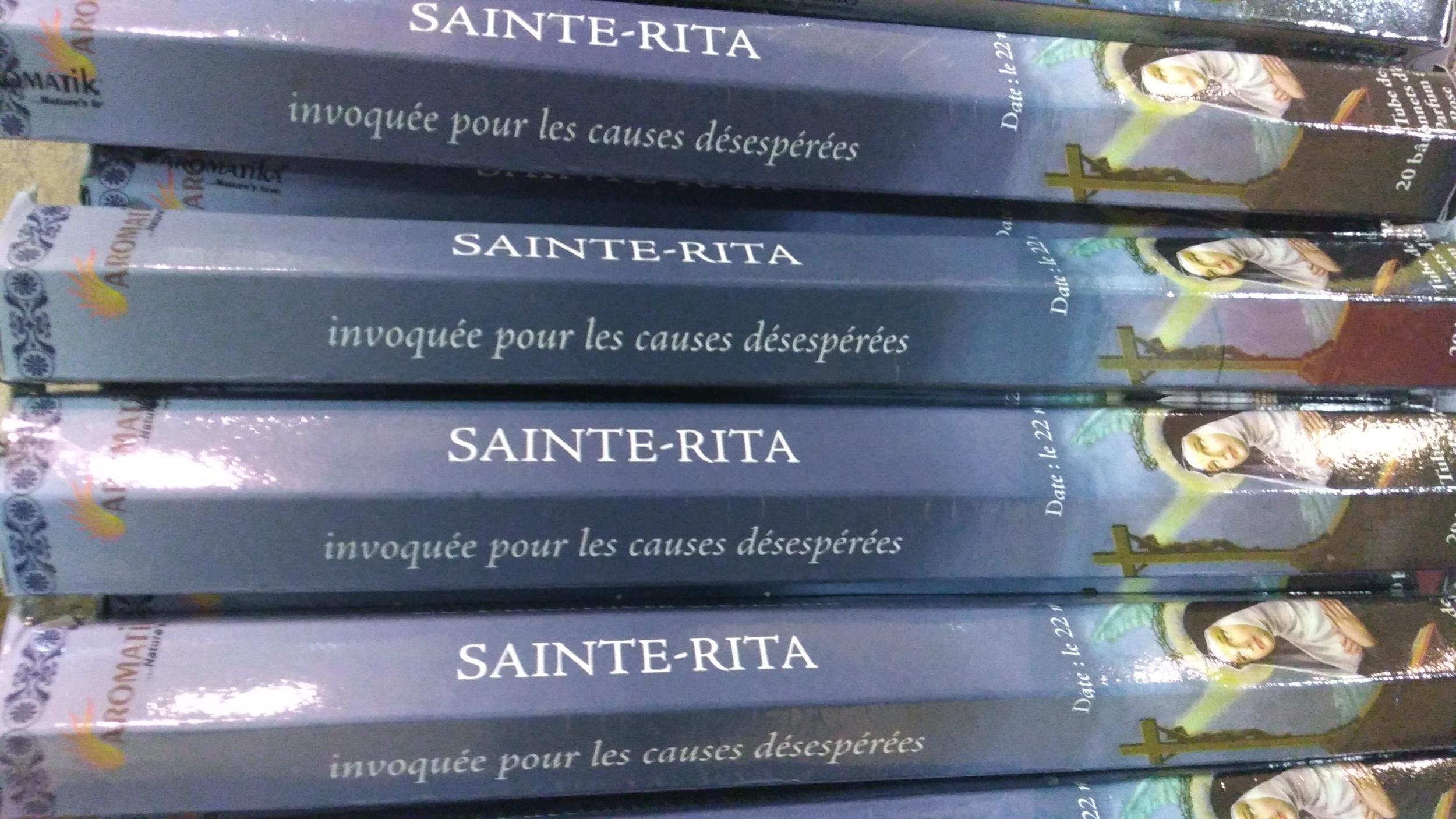 Encens Sainte Rita