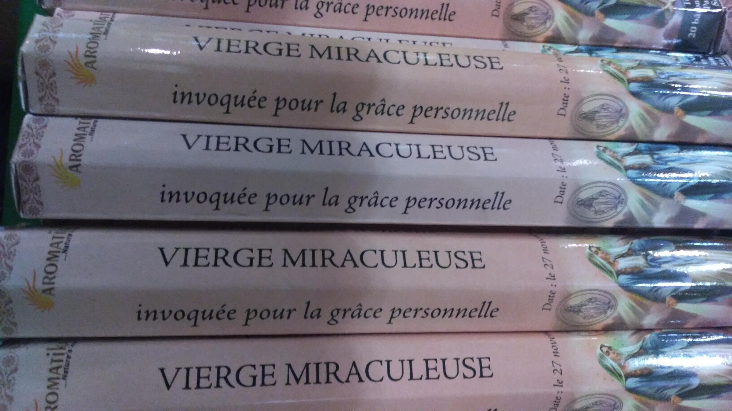 Encens Vierge Miraculeuse