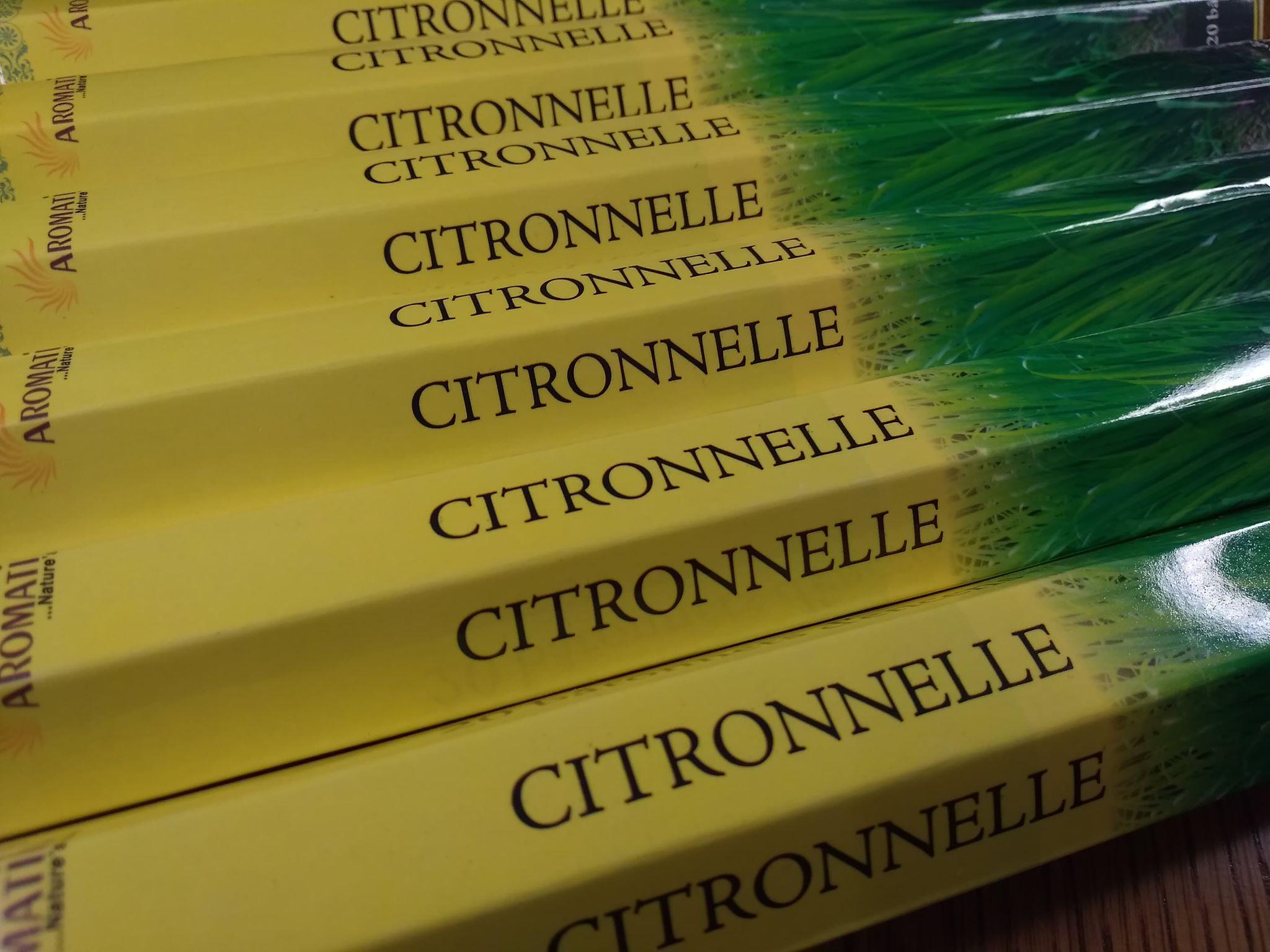 Encens Citronnelle