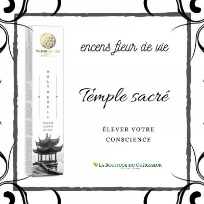 Encens Fleur de Vie Temple Sacré