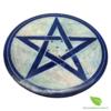 porte encens pierre rond couleurs (6)