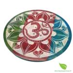 porte encens pierre rond couleurs (4)