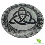 porte encens pierre rond couleurs (5)