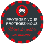 ROND - Masques - ROUGE