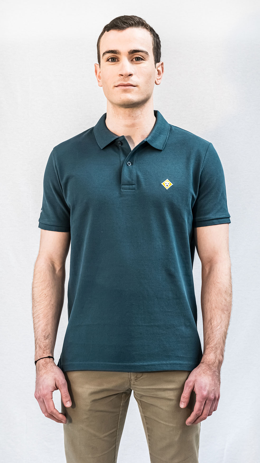 POLO LJÓN BASIC TEAL