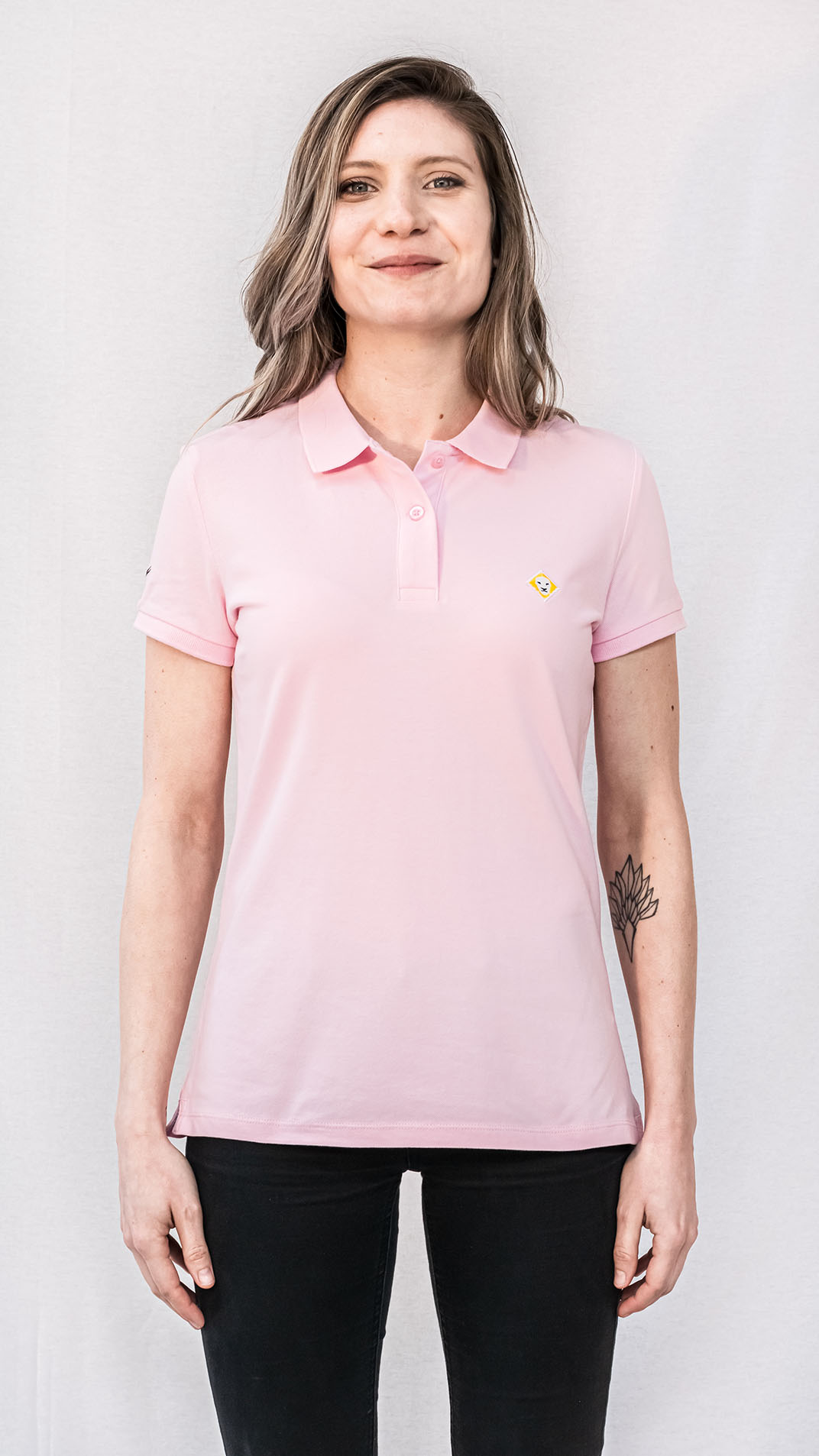 POLO LJÓN iconic PINK