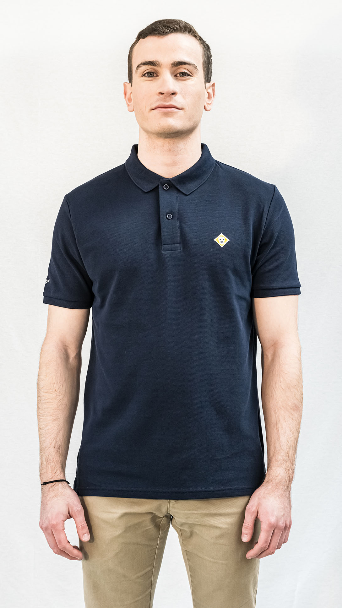 POLO LJÓN BASIC BLEU