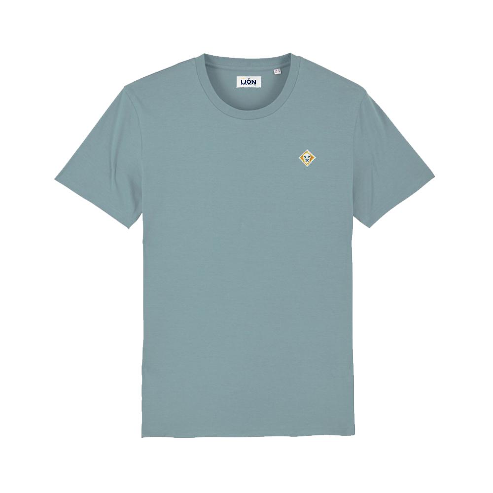 T-Shirt à col rond uni CITADEL BLUE