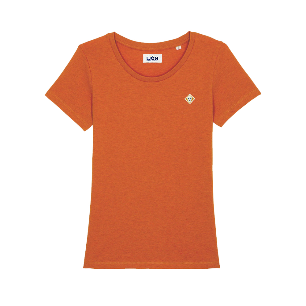 T-Shirt à col rond uni OCRE