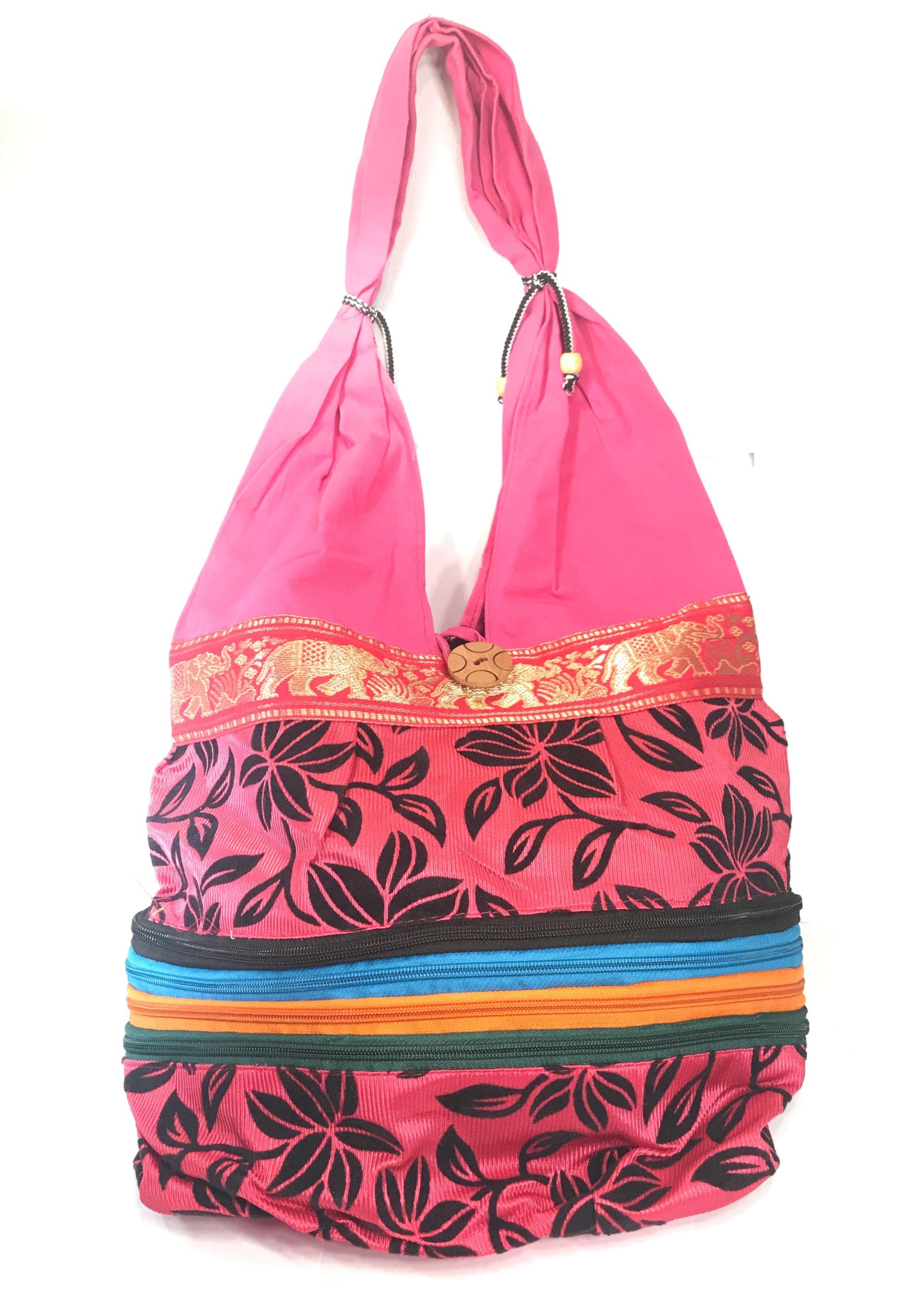 Sac tissu coloré indien