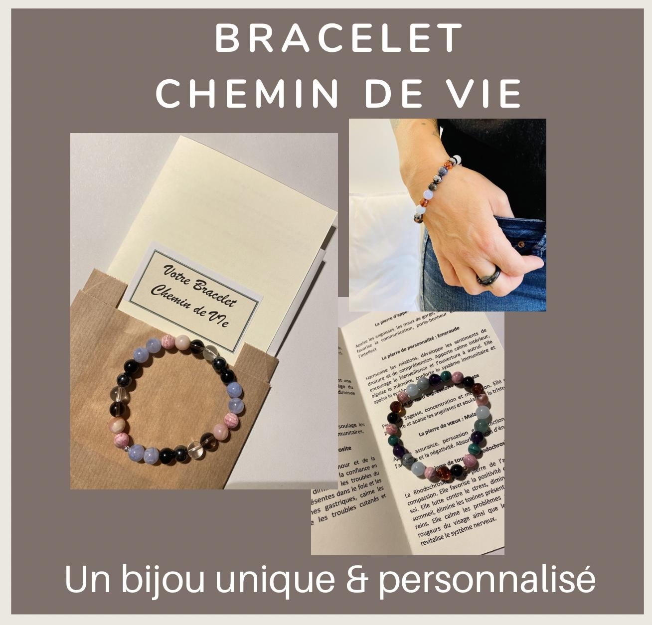Bracelet Chemin de Vie Personnalisé