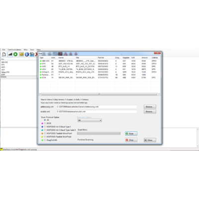 RenoLink Software - Version 1.95