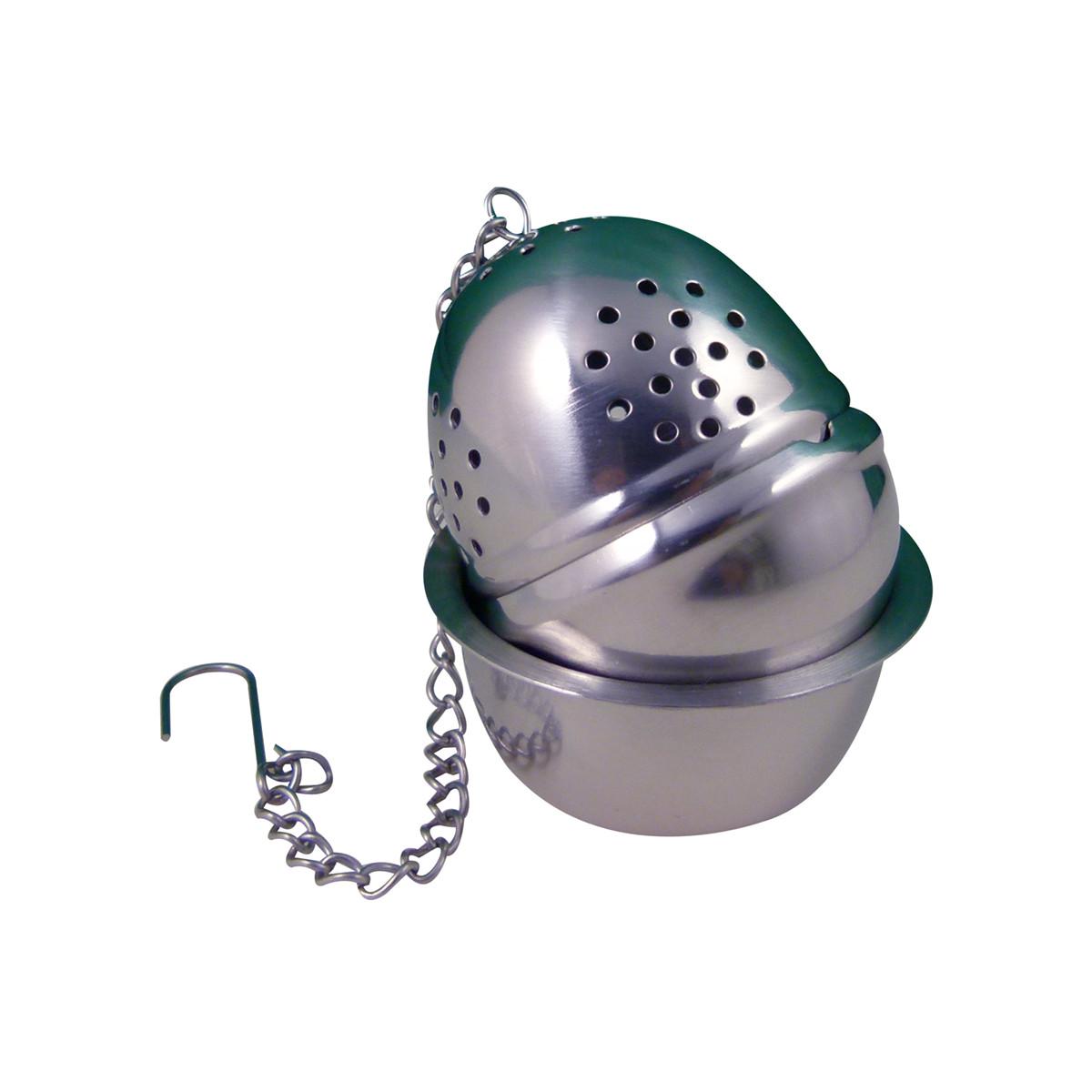 Boule à thé et son réceptacle pour 1 tasse 4cm
