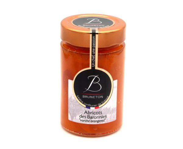 """Abricots des Baronnies """"variété Orangered"""" (pot de 230 grammes)"""