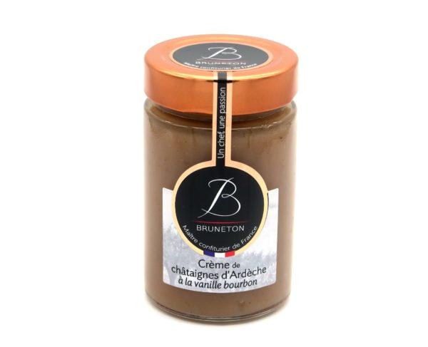 Crème de châtaignes d'Ardèche à la vanille (pot de 230 grammes)