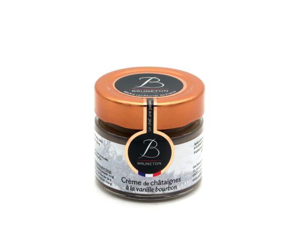 Crème de châtaignes d'Ardèche à la vanille (pot de 100 grammes)