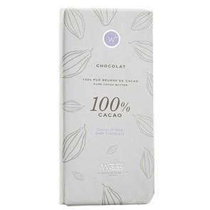 Tablette de chocolat 100% cacao - 100g