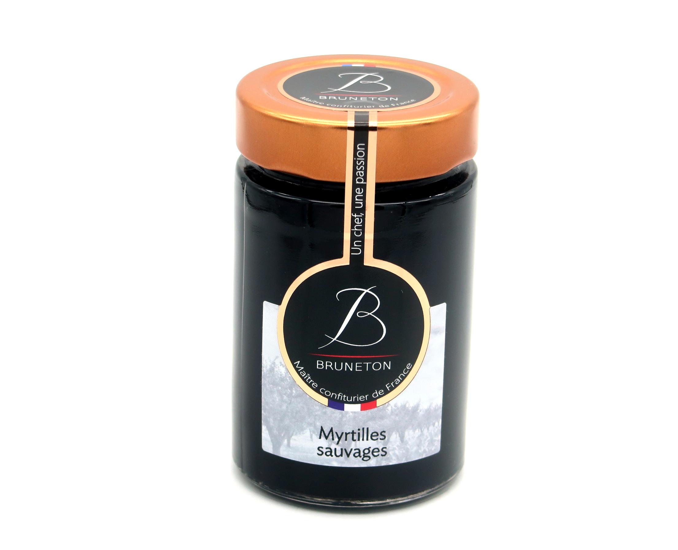 Myrtilles sauvages (pot de 100 grammes)