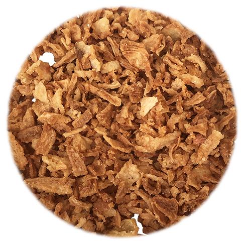 Oignons frits (sachet de 100 grammes)