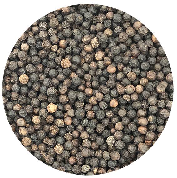 Poivre Noir de Tellicherry / Malabar (sachet de 100 grammes)