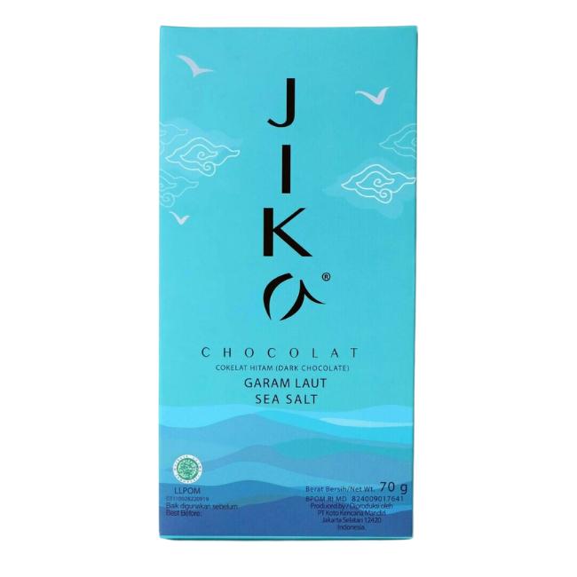Tablette Jika Chocolat Sel de Bali - 70g