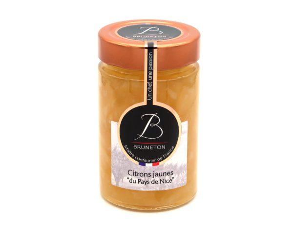 Citrons jaunes du Pays de Nice (pot de 230 grammes)