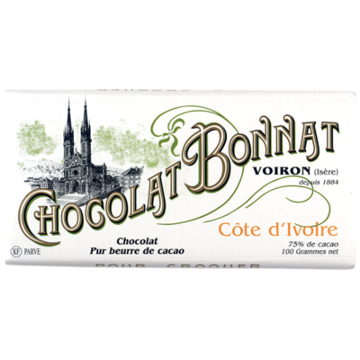 Chocolat Bonnat Côte d'Ivoire