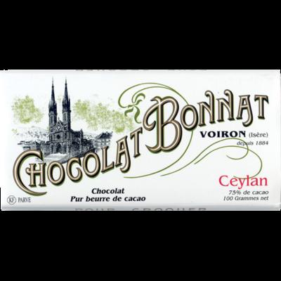 Chocolat Bonnat Ceylan