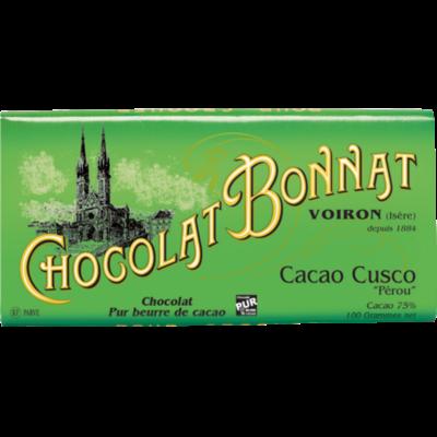 Chocolat Bonnat Cacao Cusco