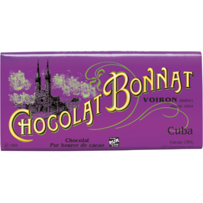 Chocolat Bonnat Cuba
