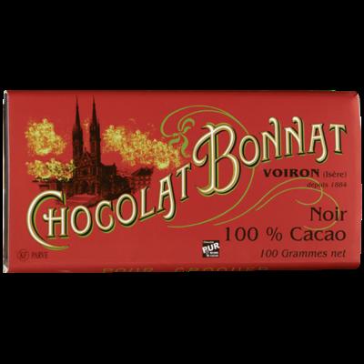 Chocolat Bonnat 100% Cacao