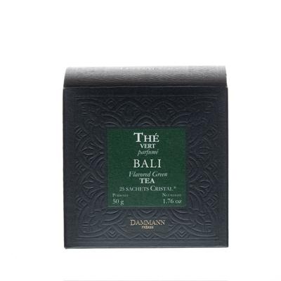 Thé Vert Bali, 25 Sachets Cristal
