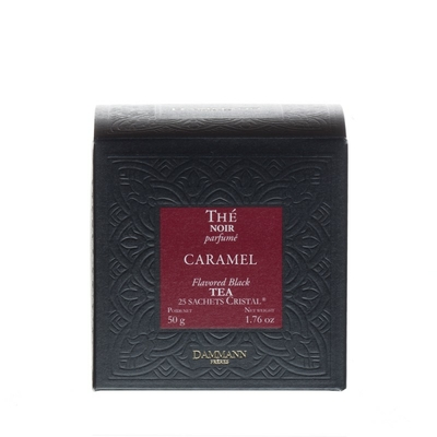 Thé Noir Caramel, 25 Sachets cristal